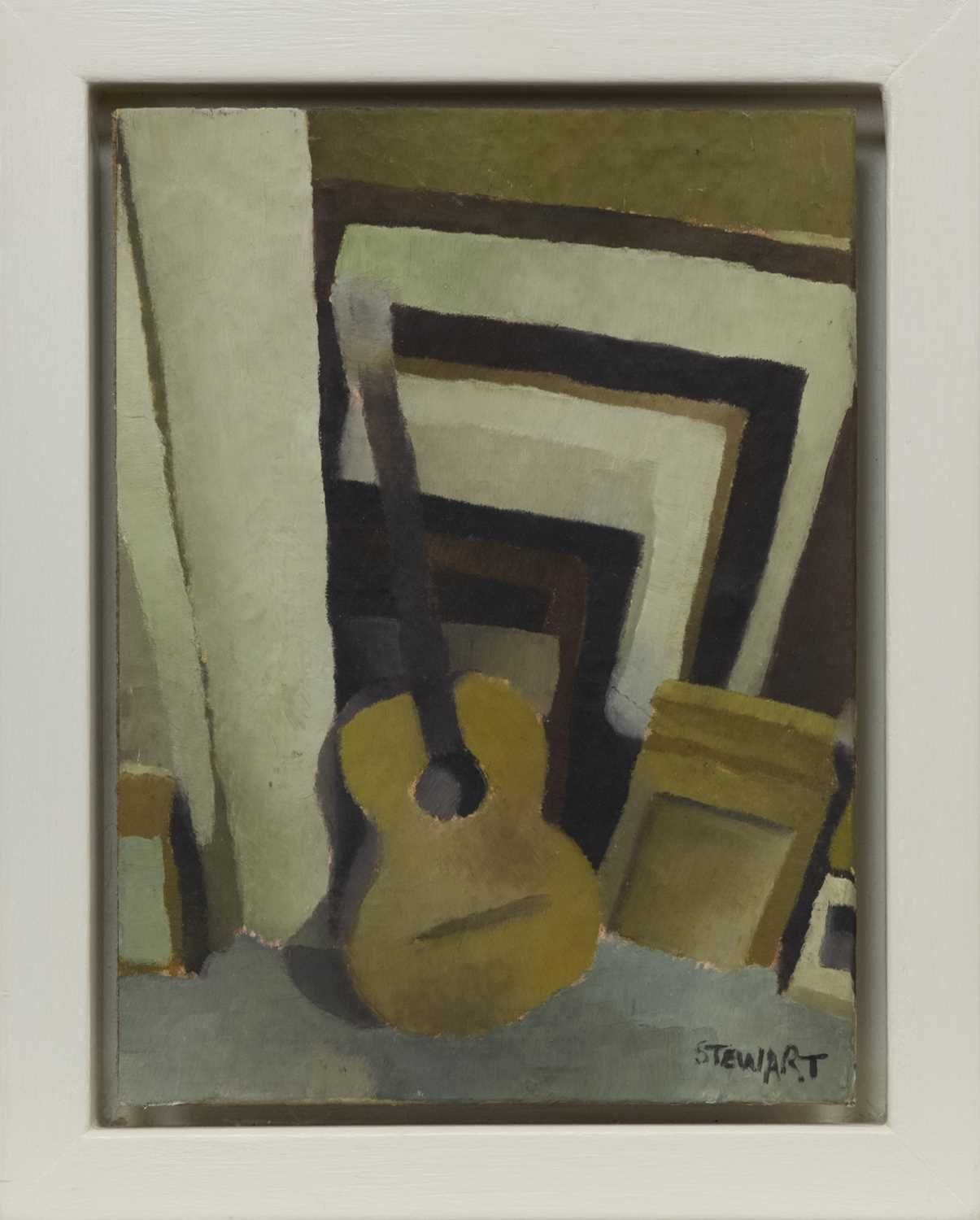 Lot 505 - A PAIR OF SMALL OILS BY LEE STEWART