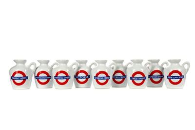 Lot 48 - TWENTY MACALLAN LONDON UNDERGROUND SERIES 10 YEAR OLD MINIATURES