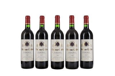 Lot 59 - FIVE BOTTLES OF CHATEAU GUILLOT 1997