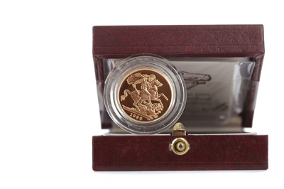 Lot 32 - A GOLD PROOF SOVEREIGN DATED 1999