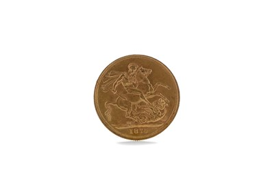 Lot 35 - A GOLD SOVEREIGN DATED 1875