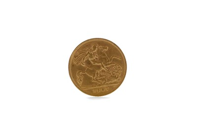 Lot 39 - A GOLD HALF SOVEREIGN DATED 1907