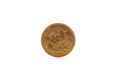 Lot 42 - A GOLD HALF SOVEREIGN DATED 1908