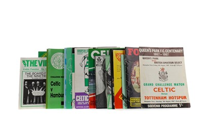 Lot 1826 - A COLLECTION OF CELTIC F.C. PROGRAMMES