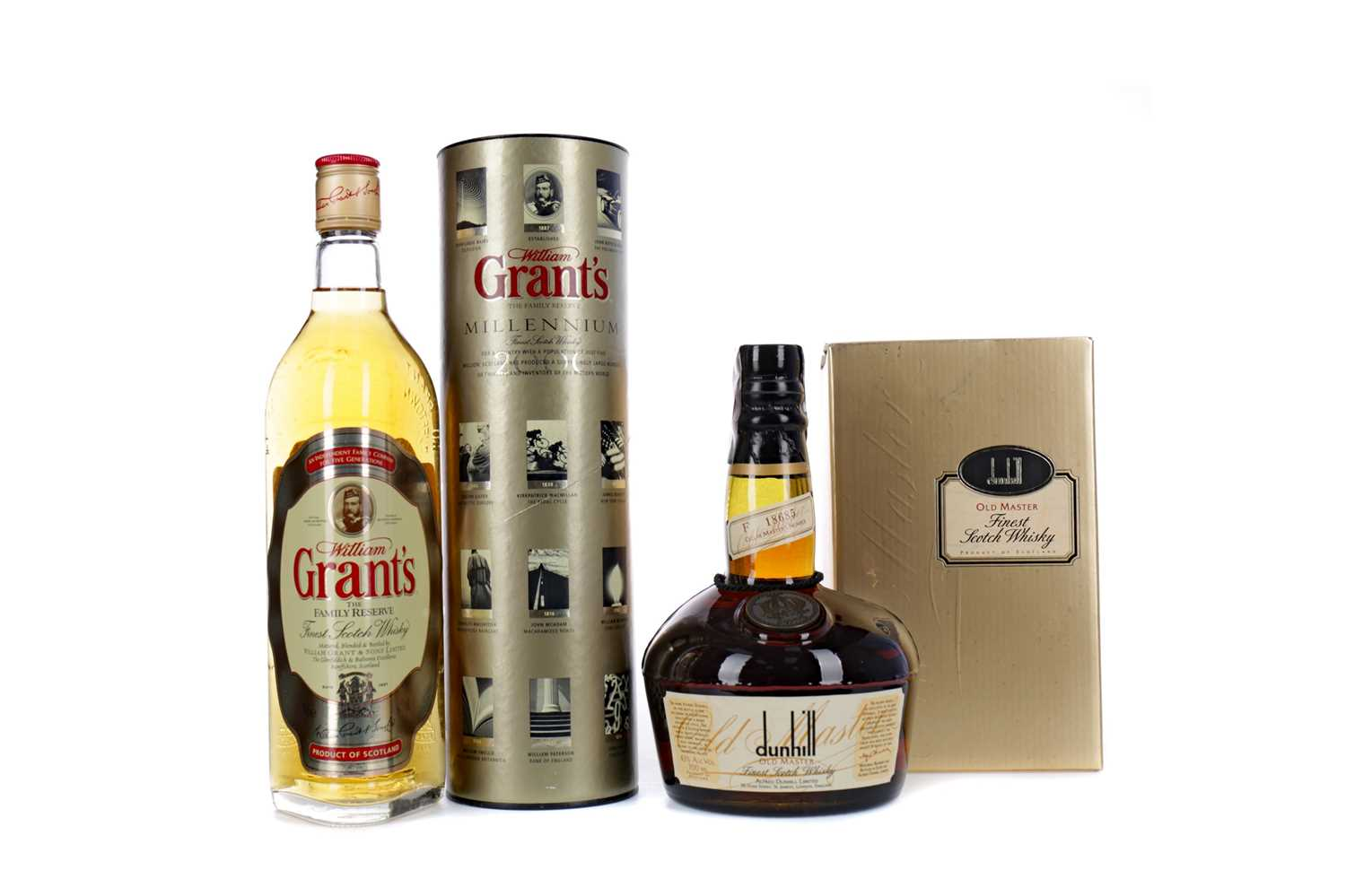 Lot 81 - DUNHILL OLD MASTER AND GRANT'S FAMILY RESERVE