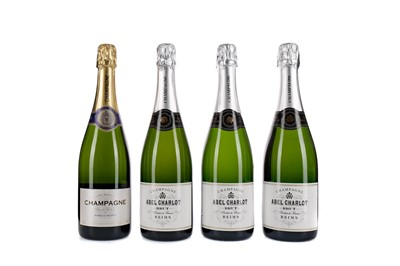 Lot 86 - THREE BOTTLES OF ABEL CHARLOT AND ONE MARQUIS BELRIVE