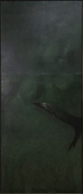 Lot 647 - EMBRACE (A DELICATE BREEZE RECALLED), 1989, A MIXED MEDIA BY NEIL DALLAS BROWN