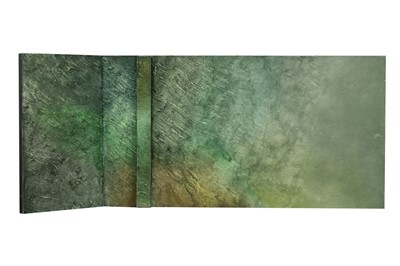 Lot 679 - ANGLE (SHIMMER SIDE), 1999, A MIXED MEDIA BY NEIL DALLAS BROWN