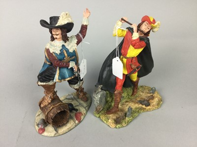 Lot 62 - A LOT OF FOUR ROYAL DOULTON RESIN FIGURES