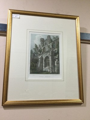 Lot 67 - A LOT OF THREE VICTORIAN LITHOGRAPHS