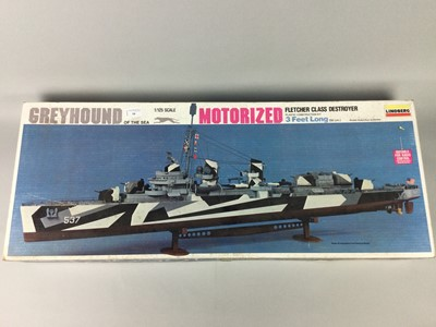 Lot 58 - A GREYHOUND OF THE SEA CONSTRUCTION KIT
