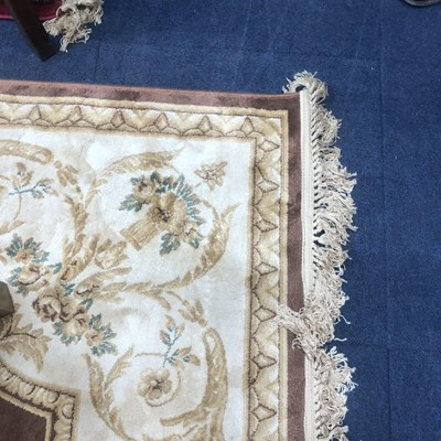 Lot 92 - A PERSIAN STYLE RUG