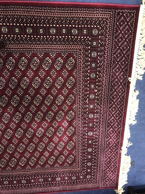 Lot 93 - A PERSIAN STYLE RUG