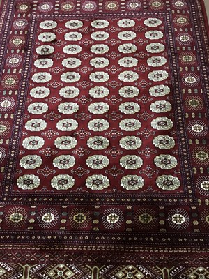 Lot 94 - A PERSIAN STYLE RUG