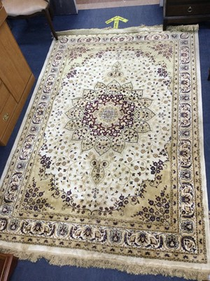 Lot 95 - A PERSIAN STYLE RUG