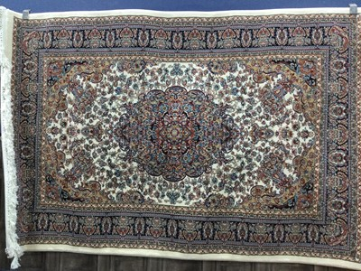 Lot 96 - A PERSIAN STYLE RUG
