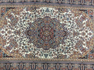 Lot 97 - A PERSIAN STYLE RUG