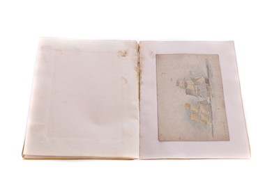 Lot 82 - ALBUM OF SKETCHES AND PRINTS BY EDMUND THORNTON CRAWFORD AND OTHERS
