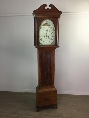 Lot 1116 - AN EARLY 19TH CENTURY LONGCASE CLOCK