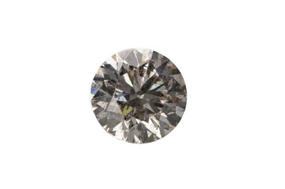 Lot 393 - AN UNMOUNTED DIAMOND