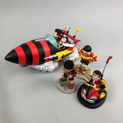 Lot 12 - A COLLECTION OF BEANO AND DANDY FIGURES BY ROBERT HARROP