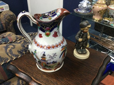 Lot 9 - A BELLS POTTERY PUNCH BOWL AND OTHER ITEMS