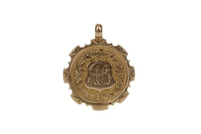 Lot 1709 - TROON BOWLING CLUB GOLD MEDAL 1919