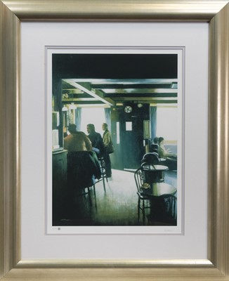 Lot 247 - CAFE, A PRINT BY ALASTAIR THOMSON
