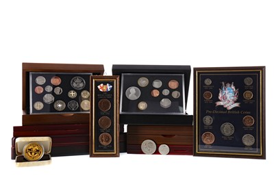 Lot 57 - A COLLECTION OF COINS AND COMMEMORATIVES