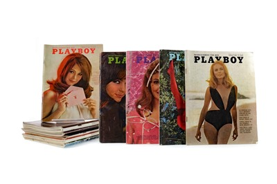 Lot 1328 - A LOT OF PLAYBOY MAGAZINES
