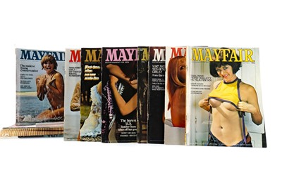 Lot 1329 - A LOT OF MAYFAIR MAGAZINES