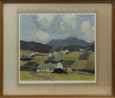Lot 88 - KINGDOM OF KERRY, A PRINT BY PAUL HENRY