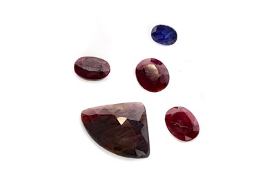Lot 413 - A COLLECTION OF CERTIFICATED UNMOUNTED GEMS