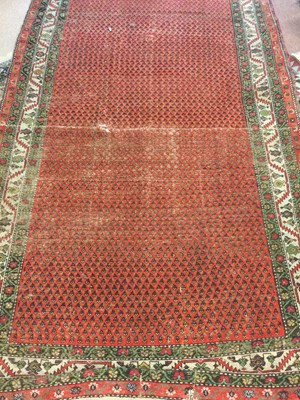 Lot 763 - AN PERSIAN RUG