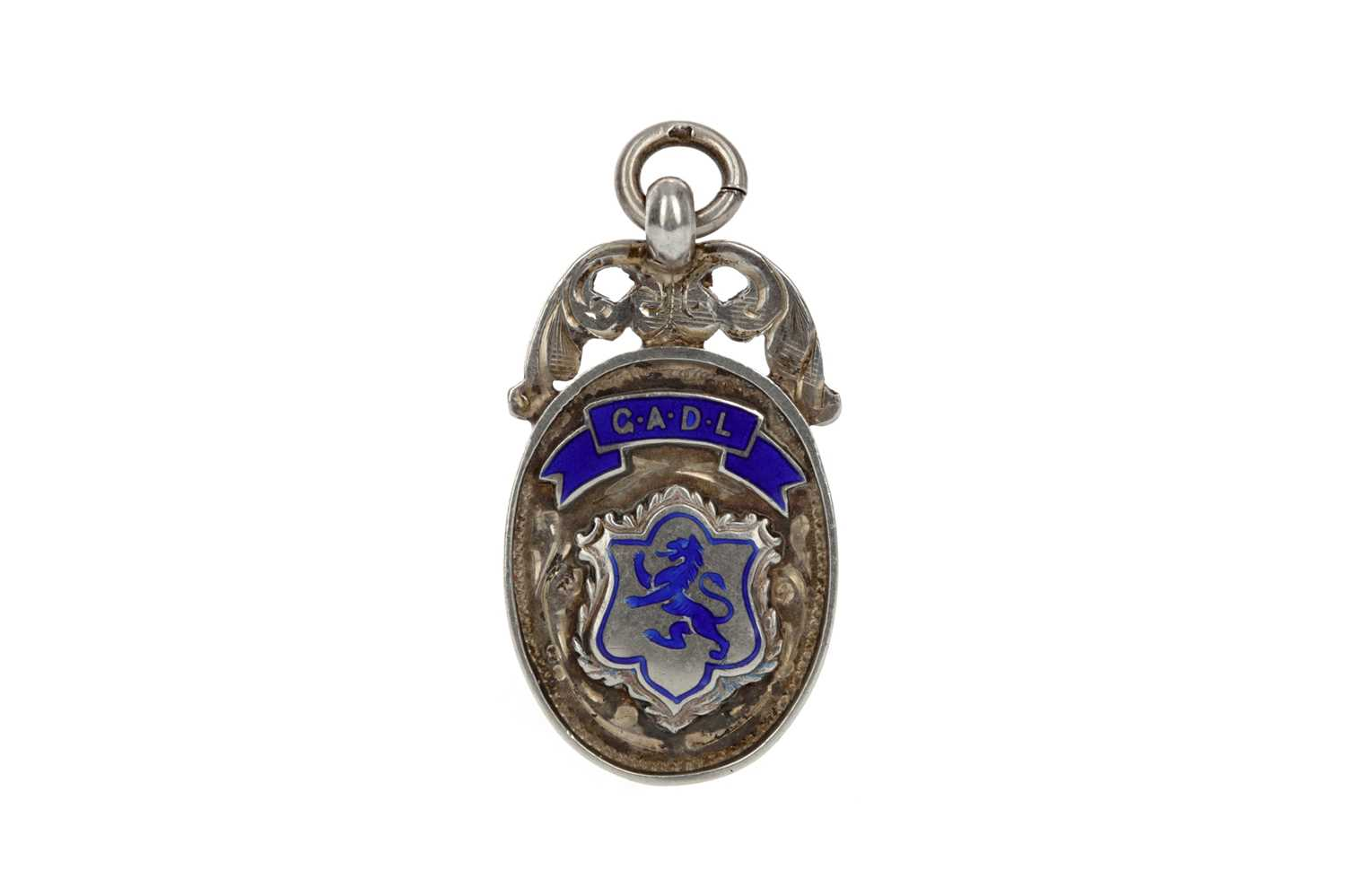 Lot 1704 - GEORGE MITCHELL - HIS GREENOCK & DISTRICT LEAGUE WINNERS SILVER MEDAL 1938
