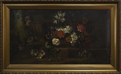 Lot 92 - A 19TH CENTURY DUTCH STILL LIFE OF FLOWERS