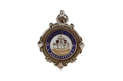Lot 1818 - J. LANG OF ST. MIRREN F.C. - HIS RENFREWSHIRE CUP WINNERS MEDAL 1962/63