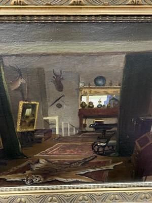 Lot 100 - CAMDEN SCHOOL ARTIST'S STUDIO, MOST LIKELY MORNINGTON CRESCENT, AN OIL BY BERNHARD SICKERT