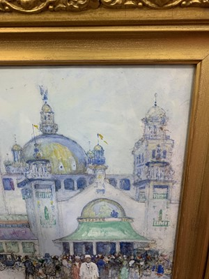 Lot 103 - THE SECOND GLASGOW INTERNATIONAL EXHIBITION, A WATERCOLOUR BY ROBERT MCGOWN COVENTRY