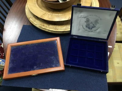 Lot 81 - A LOT OF EMPTY COIN CASES