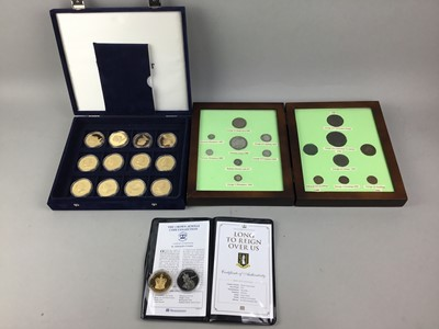 Lot 83 - A COLLECTION OF COINS, COINSETS AND BANKNOTES