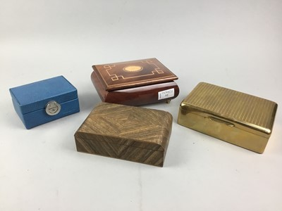 Lot 77 - A LOT OF BOXES INCLUDING CIGARETTE AND TRINKET BOXES