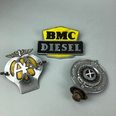 Lot 53 - A COLLECTION OF CAR BADGES