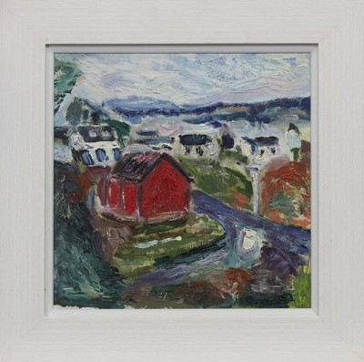 Lot 537 - DRUMBUIE, AN OIL BY GEORGE WILLIAMSON