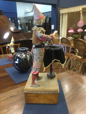 Lot 1396 - A VICTORIAN AUTOMATON OF A CONJURER