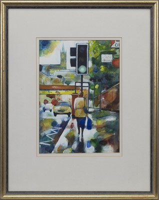 Lot 502 - PARTICK WALK, A WATERCOLOUR BY BRYAN EVANS