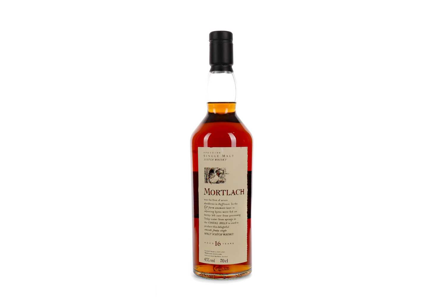 Lot 5 - MORTLACH AGED 16 YEARS FLORA & FAUNA