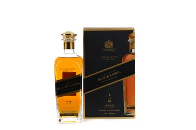Lot 6 - JOHNNIE WALKER BLACK LABEL 12 YEARS OLD COLLECTORS EDITION