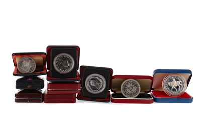 Lot 5 - A COLLECTION OF SILVER AND OTHER COINS