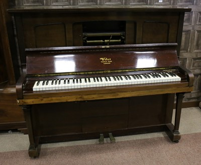 Lot 1141 - AN EARLY 20TH CENTURY 'PIANOLA' PIANO BY WEBER